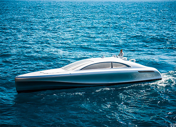 Mercedes-Benz Granturismo Yacht at werd.com