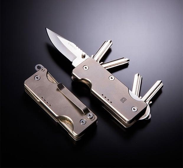 Mini Q Knife & Key Carry at werd.com
