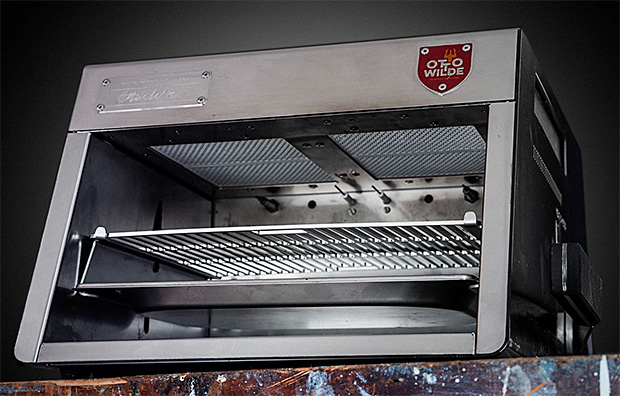Otto Over-fired Broiler at werd.com