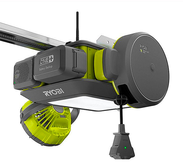 RYOBI Garage Door Opener at werd.com