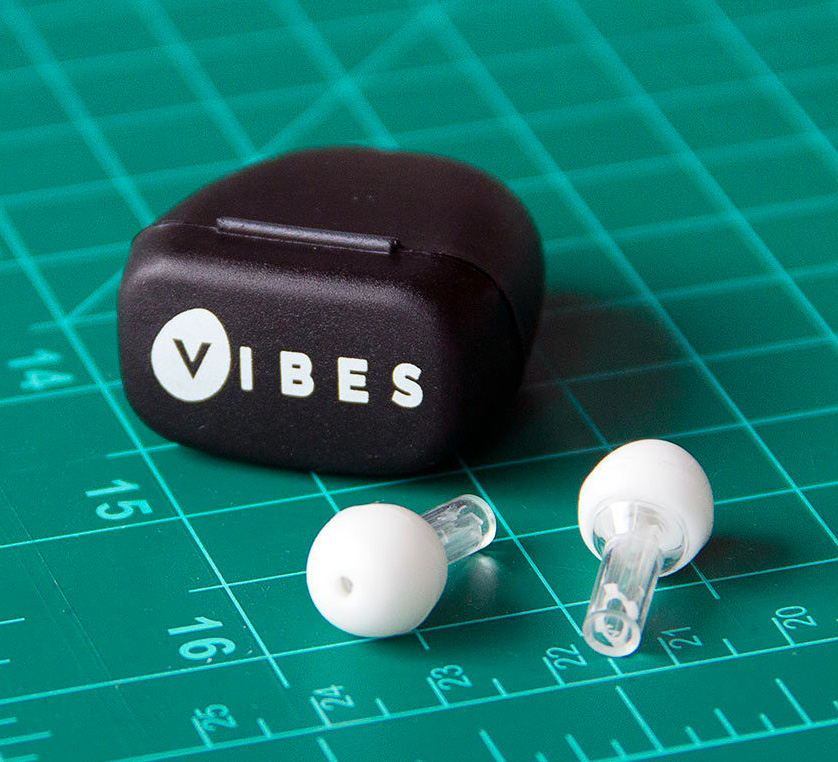 Vibes High-fidelity Earplugs at werd.com