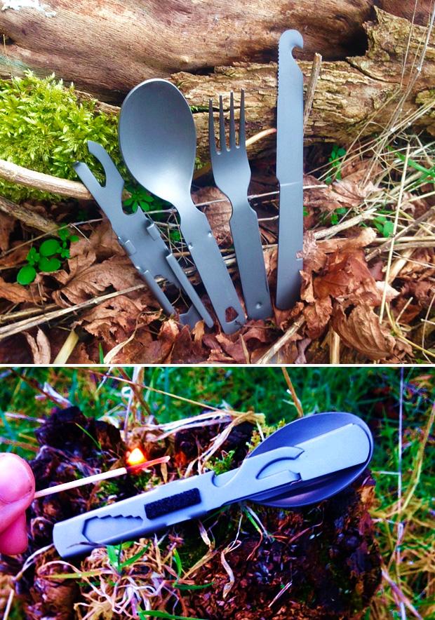 Vulcan Titanium Cutlery Multi-tool at werd.com