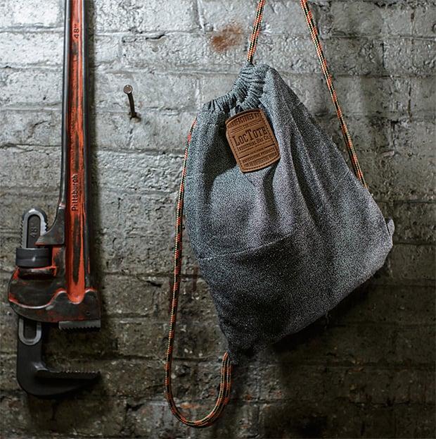 Flak Sack Theft-Proof Drawstring Backpack at werd.com