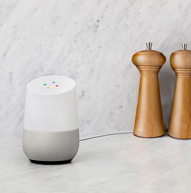 Google Home at werd.com