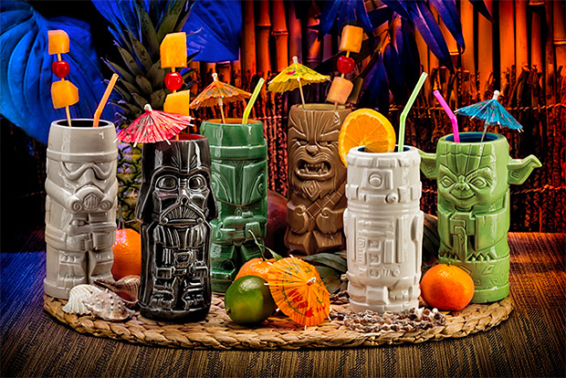 Star Wars Tikis at werd.com