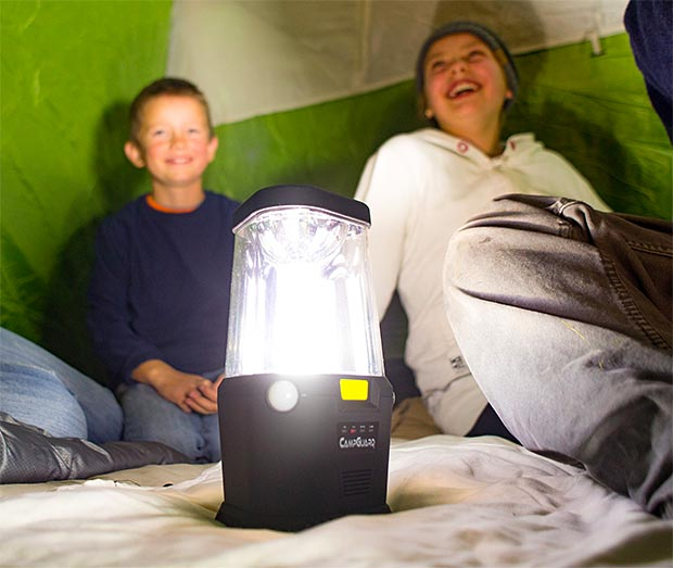 Bright Path LED CampGuard Perimeter Security Camping Lantern at werd.com