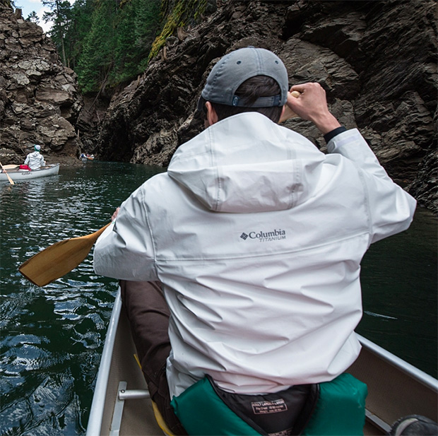 Columbia OutDry Extreme ECO Shell Rain Jacket at werd.com