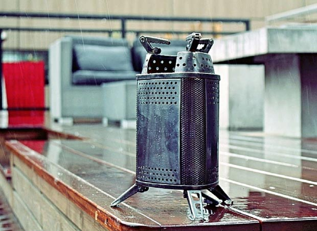 EcoFire Wood Burning Campstove at werd.com