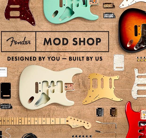 Fender Mod Shop at werd.com