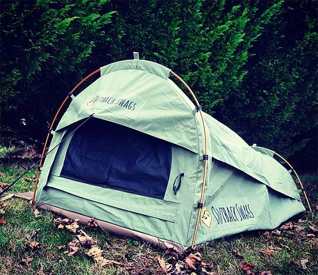 Pioneer Swag Tent at werd.com