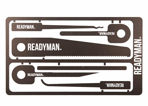 Readyman Hostage Escape Card at werd.com