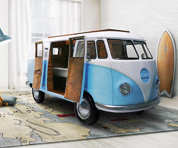 VW Camper Van Bed at werd.com