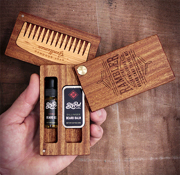 Big Red Beard Combs Rambler at werd.com