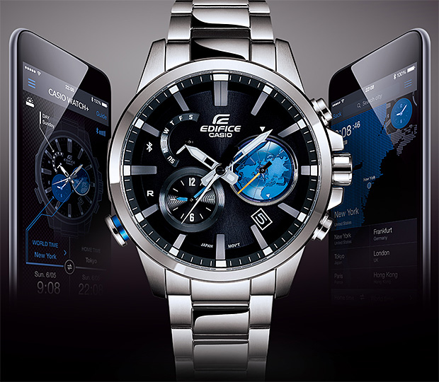 Casio EDIFICE EQB600 at werd.com