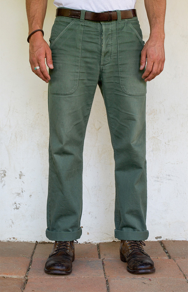 Freenote Vagabond Chino at werd.com