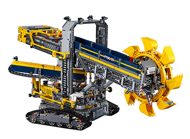 Lego Bucket Wheel Excavator at werd.com