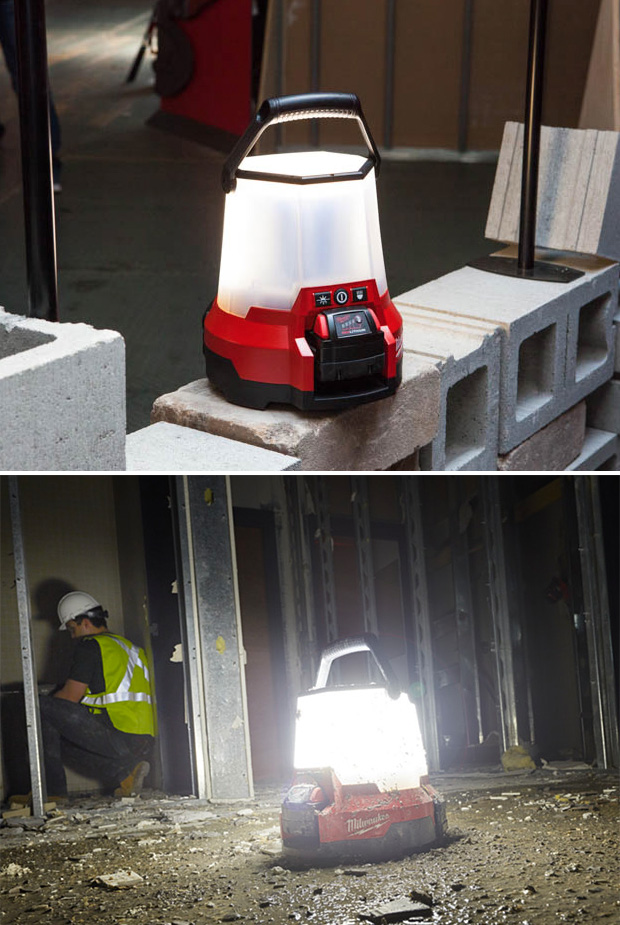 Milwaukee M18 Radius LED Compact Site Light at werd.com