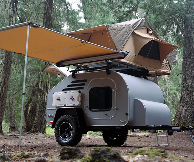 Oregon Trailer TerraDrop Off-Road Camping Trailer at werd.com