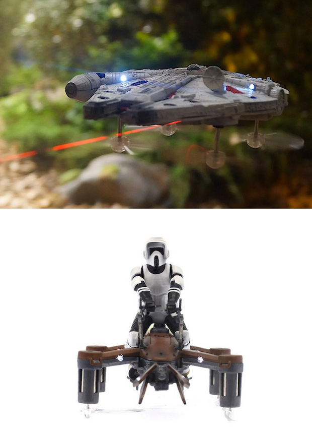 "Propel RC Star Wars ""Battling Quad"" Drones at werd.com"