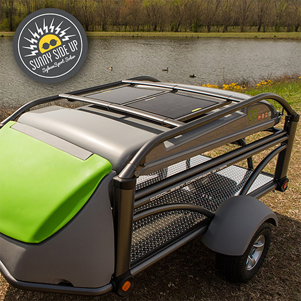SylvanSport Sunny Side Up Integrated Solar Kit at werd.com