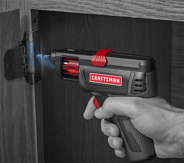 Craftsman 4V Slide Screwdriver at werd.com