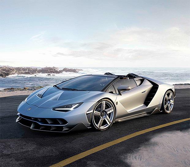 Lamborghini Centenario Roadster at werd.com