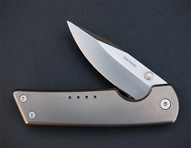 The Strand & The West Titanium EDC Pocket Knives at werd.com