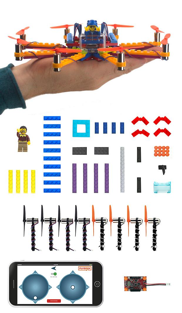 Flybrix Lego Drones at werd.com