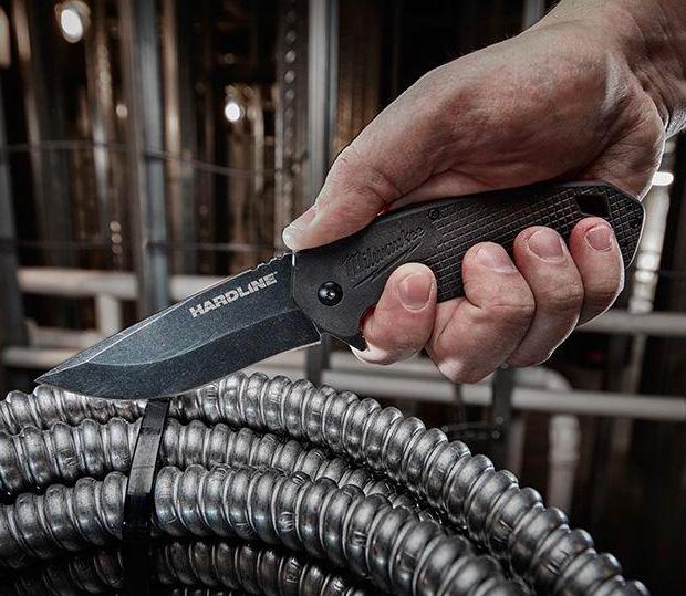 Milwaukee Hardline Knife at werd.com