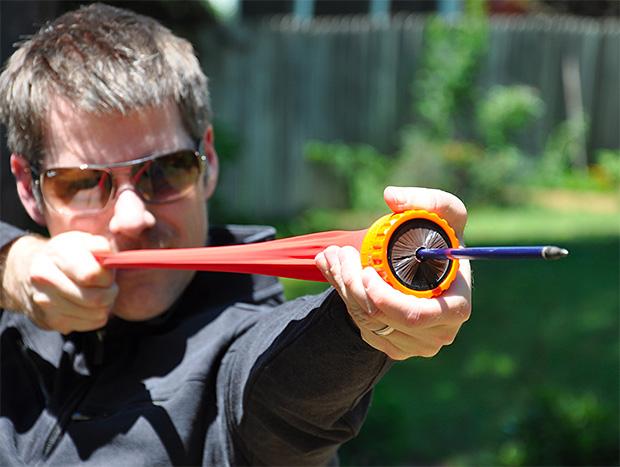 Pocket Shot Arrow Shooting Kit at werd.com