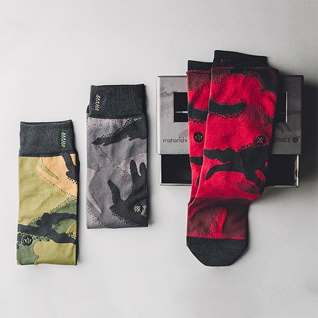 Stance x maharishi Socks at werd.com