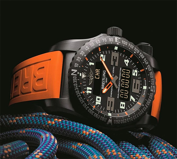 Breitling Emergency Night Mission Watch at werd.com