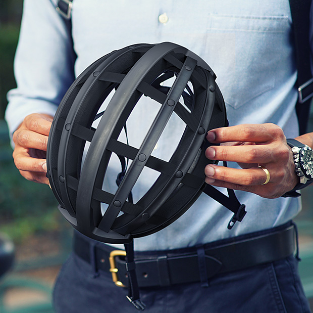FEND Collapsible Bicycle Helmet at werd.com