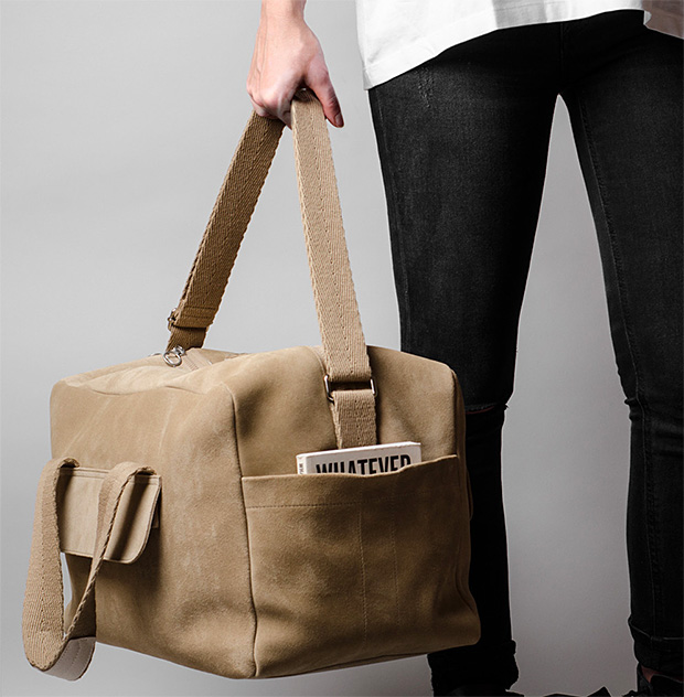 Hardgraft Holdall at werd.com