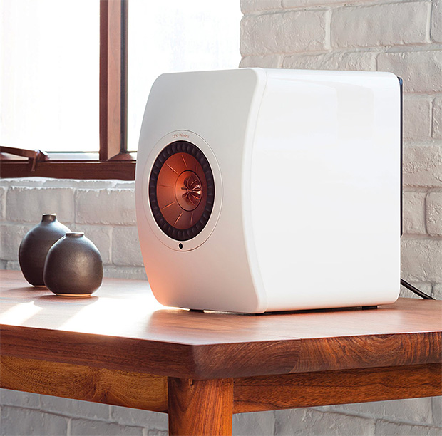 KEF LS50 Wireless Speaker System at werd.com