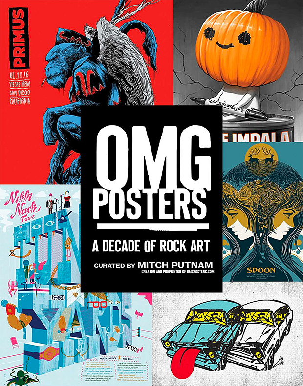 OMG Posters: A Decade of Rock Art at werd.com
