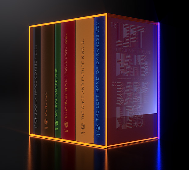 Penguin Galaxy Series 6-Book Deluxe Boxed Set at werd.com