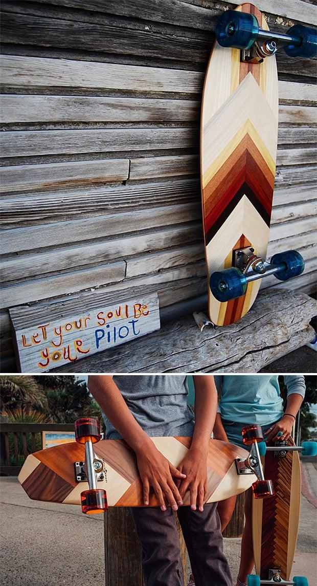 Sanford Shapes Cruiser Skateboards at werd.com
