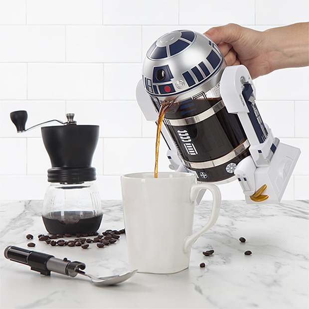 Star Wars R2-D2 Coffee Press at werd.com