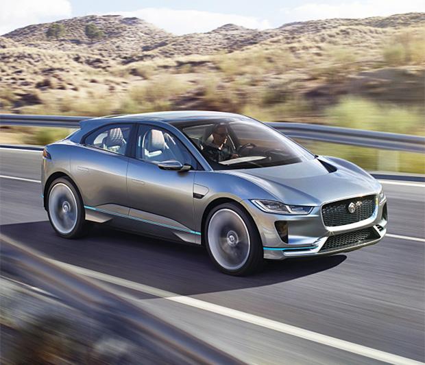 Jaguar I-Pace at werd.com