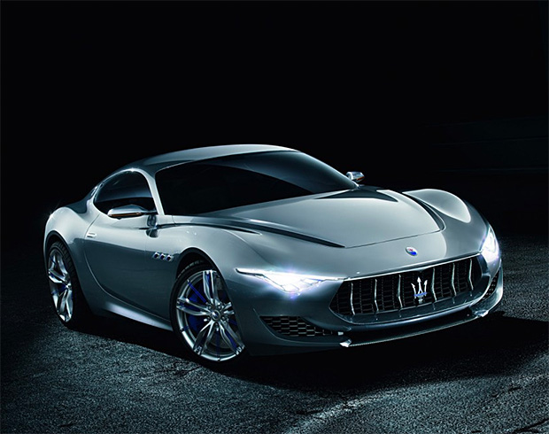 Maserati Alfieri Electric Sports Car at werd.com