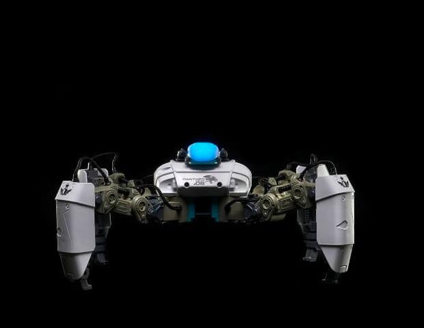 MekaMon Augmented Reality Spider Battle Robots at werd.com