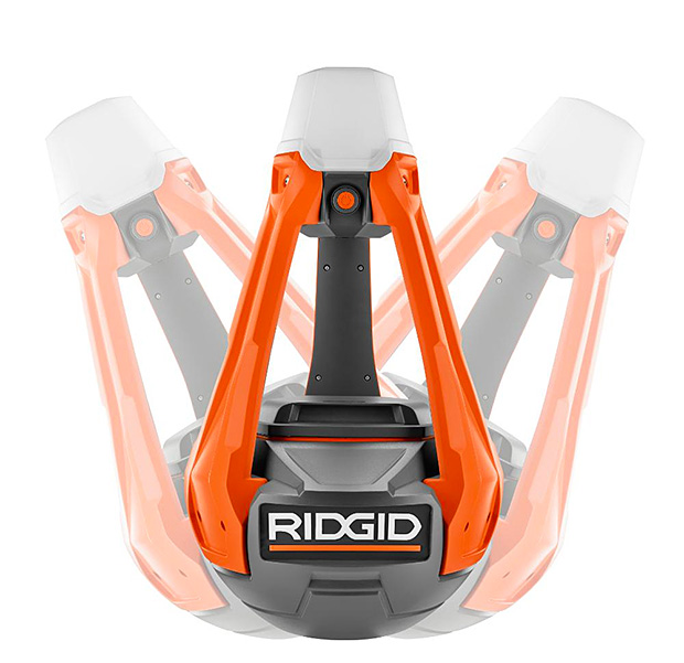 Ridgid GEN5X 18-Volt Hybrid Upright Area Light at werd.com