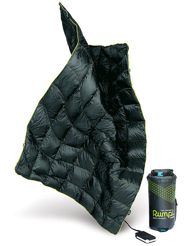 Rumpl Puffe- Heated Blanket at werd.com