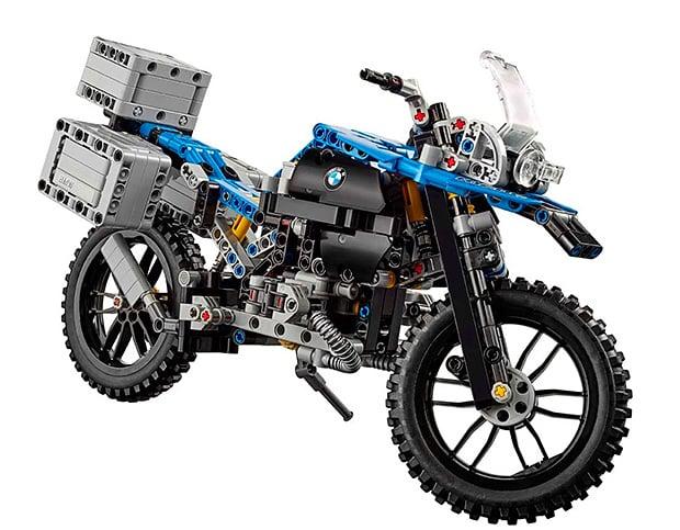 The BMW R 1200 GS Adventure LEGO Set at werd.com