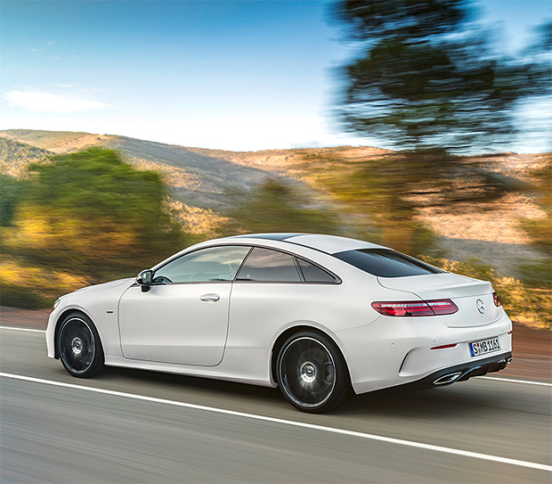 2018 Mercedes-Benz E-class Coupe at werd.com