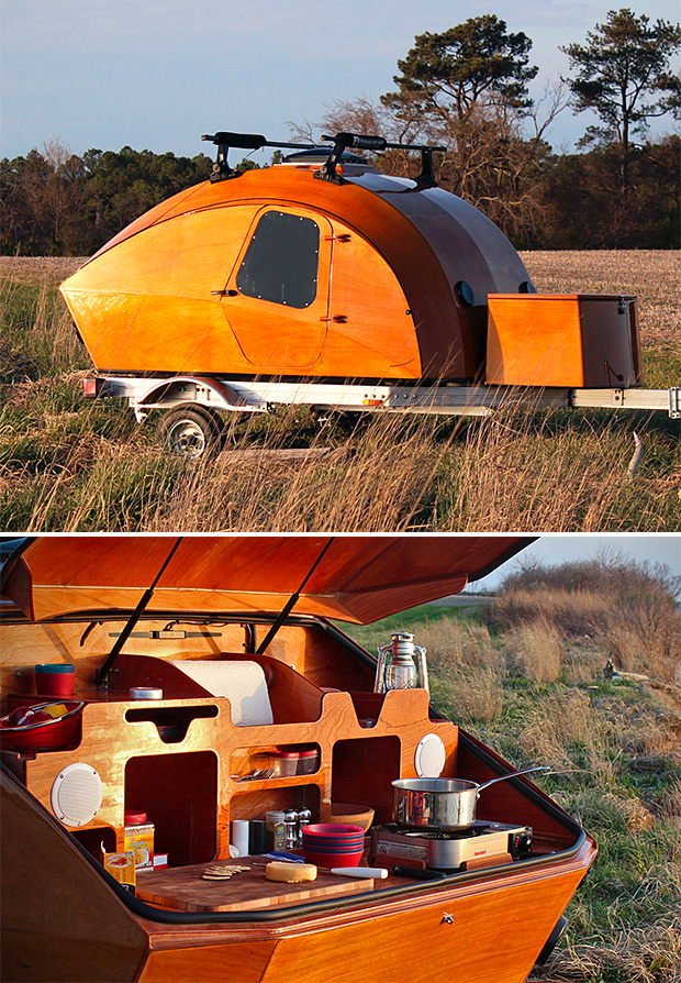 Chesapeake Light Craft Camper-Trailer Kit at werd.com