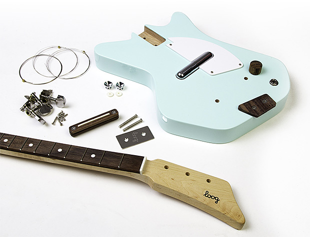 Loog Starter Guitar Kit for Kids at werd.com