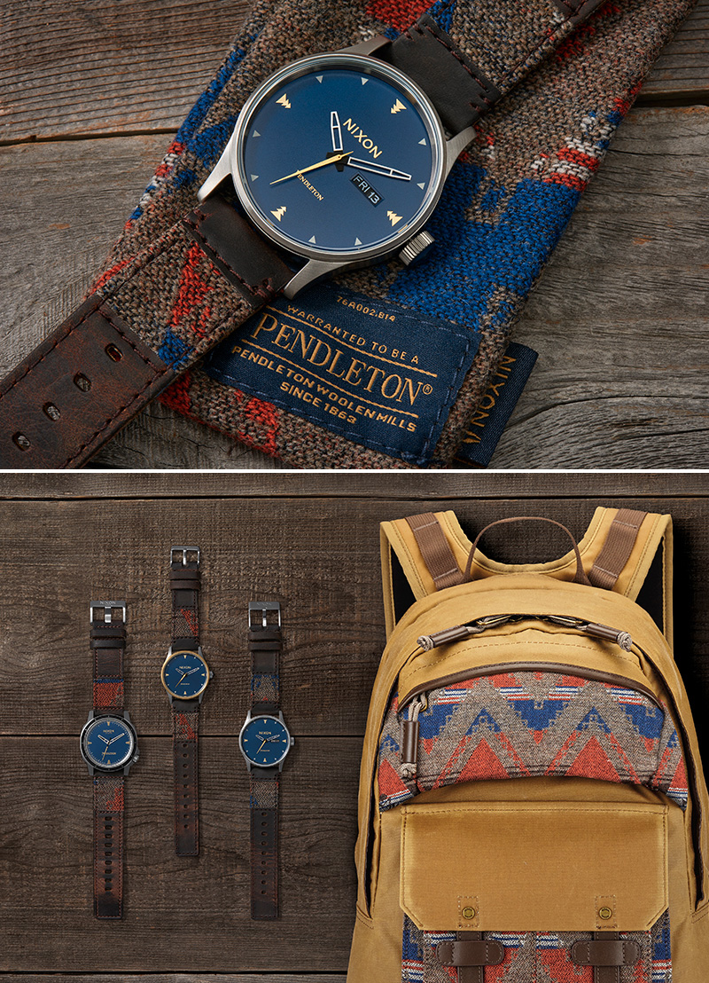Nixon x Pendleton Collection at werd.com