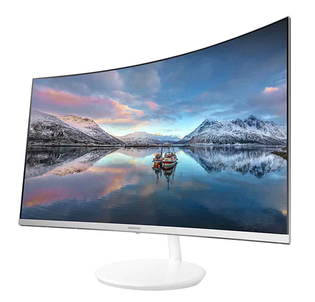 Samsung CH711 Quantum Dot Curved Monitor at werd.com